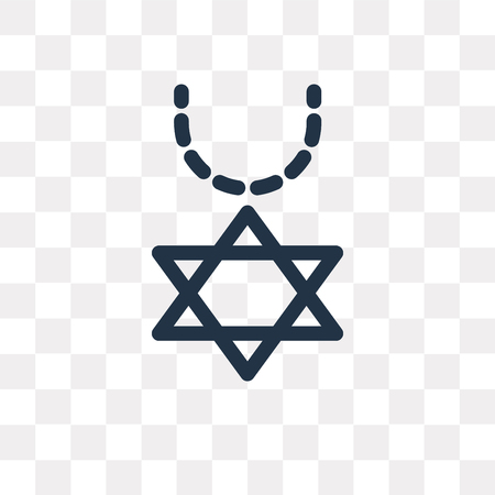 Necklace vector icon isolated on transparent background, Necklace transparency concept can be used web and mobile Çizim