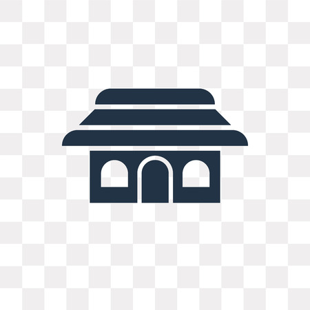 Shinto vector icon isolated on transparent background, Shinto transparency concept can be used web and mobile