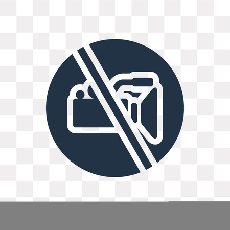 No video vector icon isolated on transparent background, No video transparency concept can be used web and mobile