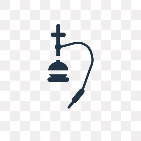 Hookah vector icon isolated on transparent background, Hookah transparency concept can be used web and mobile Illustration