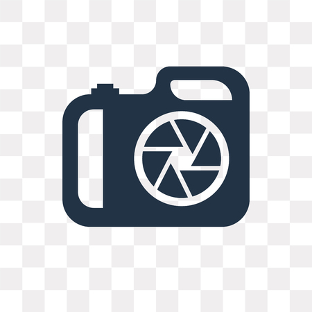 Aperture vector icon isolated on transparent background, Aperture transparency concept can be used web and mobile