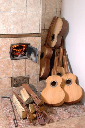 a guitar workshop. photo