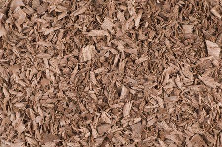 mahogany: shavings mahogany Stock Photo