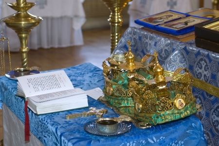 wedding in the Orthodox Church Stock Photo - 17762640