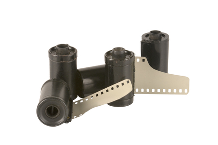 old Black and white photographic film