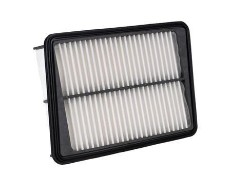 new filter: New car air filter Stock Photo