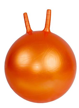 handles: Gymnastic ball with handles Stock Photo