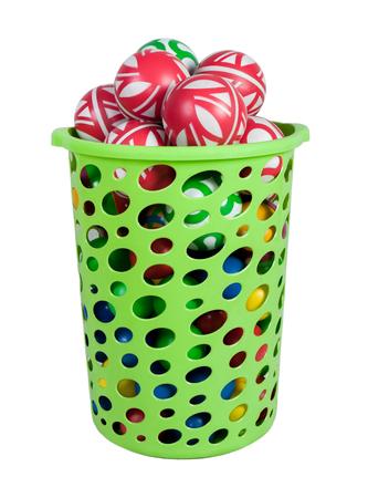 pull toy: compra verde con bolas de los niños