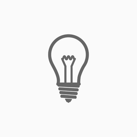 bulb icon Ilustração
