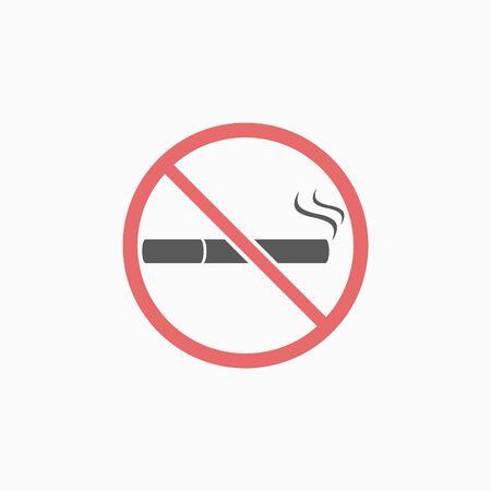 no smoking icon  イラスト・ベクター素材
