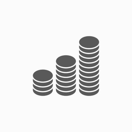 icono de monedas