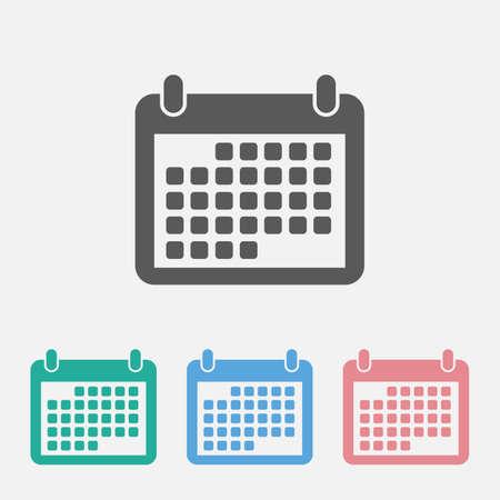 calendar icon 矢量图像
