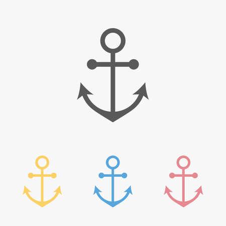 anchor icon 矢量图像