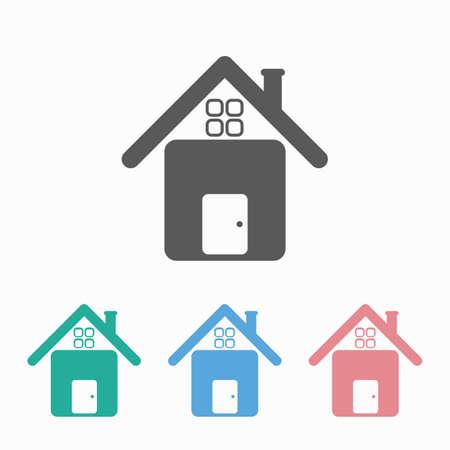 home icon 矢量图像