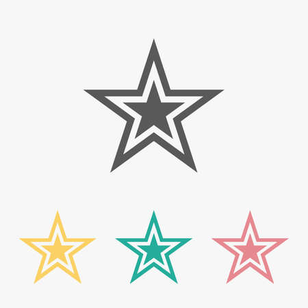 star icon 矢量图像