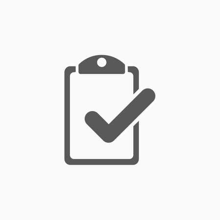 checklist icon 矢量图像