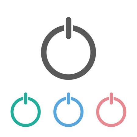 start power icon Çizim