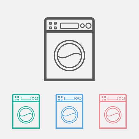 washing machine icon Çizim