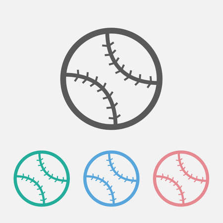 baseball icon Çizim