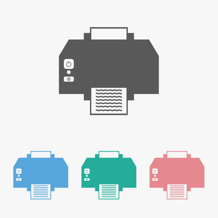 printer icon Çizim
