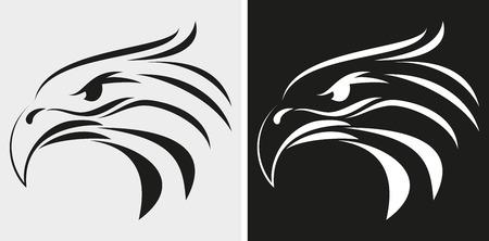 Illustration of Eagle head icon