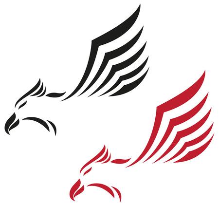 Illustration of Eagle icon   イラスト・ベクター素材