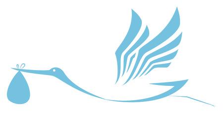 cigogne: Icône prestation Stork