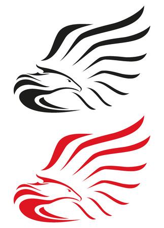 イーグルスのマスコットやシンボル