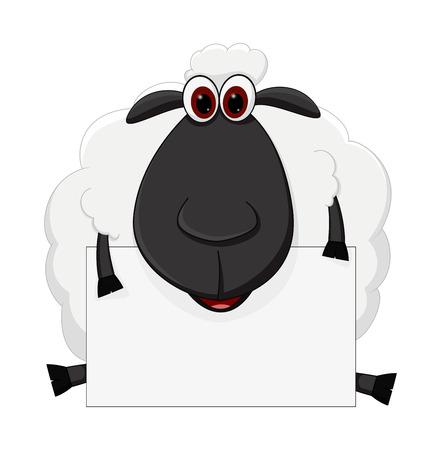 記号と座っている羊漫画