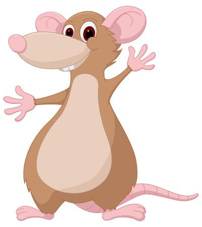 cute mouse: Cute mouse cartoon Illustration