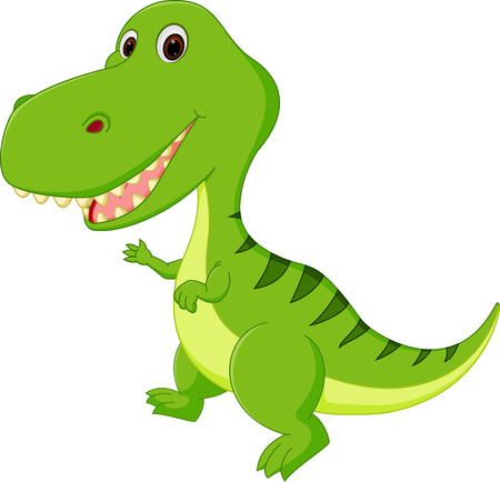 cartoon dinosaur: Cute Dinosaur cartoon