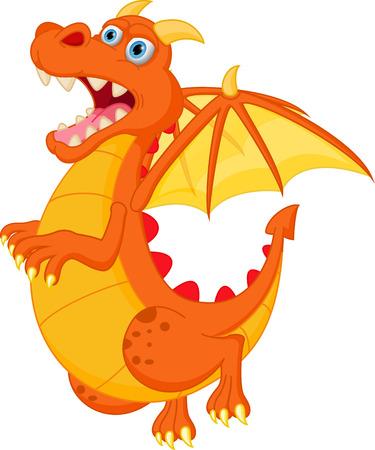 red dragon cartoon