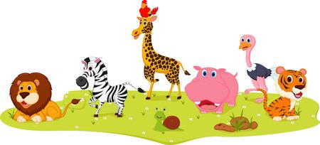 幸せな野生動物漫画