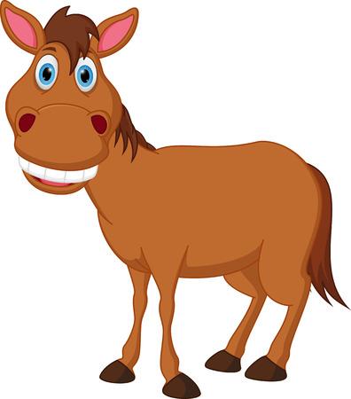 幸せな馬漫画