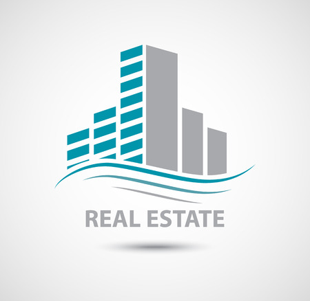 apartment building: real estate, logo, building, icon, hotel, symbol, vector, element, graphics, abstract, concept, forward, modern, panorama, business, shape, set, big, glass, think big, skyscraper, human, stylized, town, apartment, economy, corporation, innovation, future,