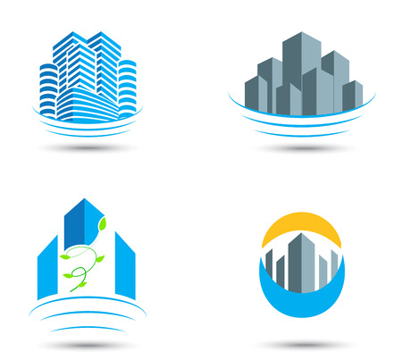 Real estate symbol and icons