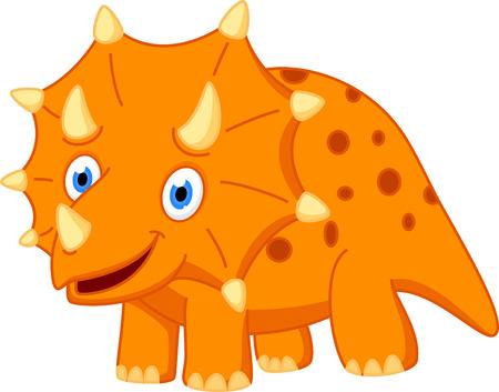 carboniferous: Cute Dinosaur cartoon