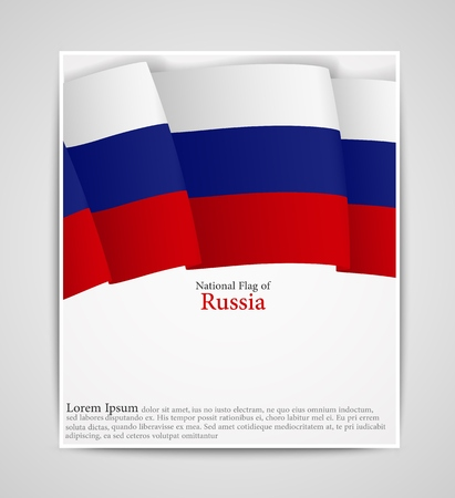 edel: National flag brochure of Russia