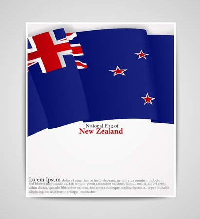 crux: National flag brochure of New Zealand