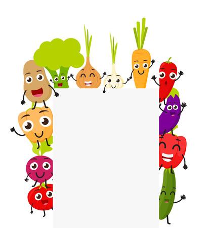 재미있는 만화 야채