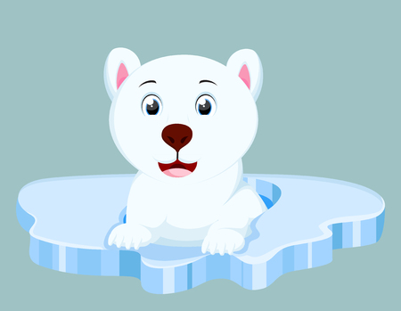 Cute Polar Bear cartoon