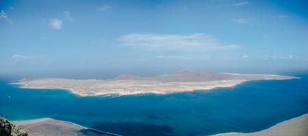 lanzarote: Mirador del Rio Lanzarote Stock Photo