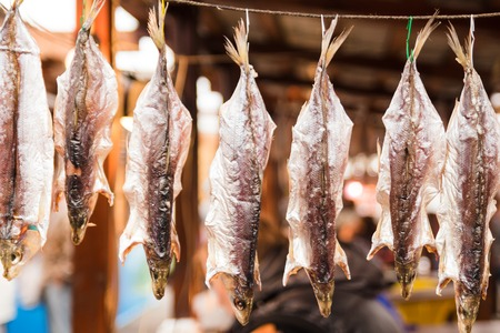 fish  food: Cold smoked fish. Food Industry.