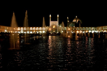 Night Reflection at Naqsh-e Jahan Square