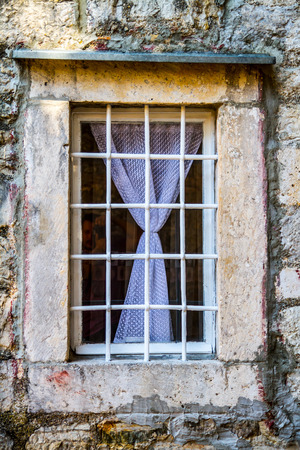 Window located in Herzeg Novi, Montenegro. photo