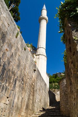 mostar: Pocitelj old town near Mostar in Bosnia Herzegovina Editorial