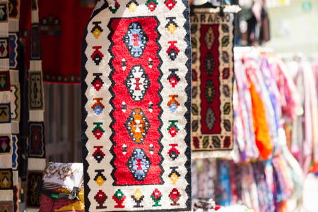 shop for animals: Turkish Hand Weaved Tapestry at a souvenir shop