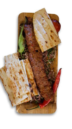 delicious turkish kebabs and excellent food, grill, adana, turkey, Stock Photo