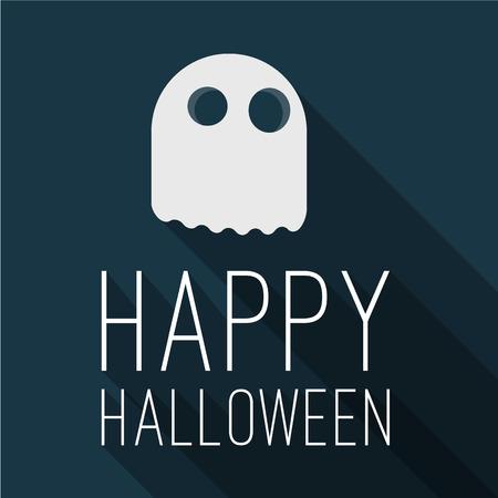 mock up: Halloween party. Happy Halloween flan design mock up.