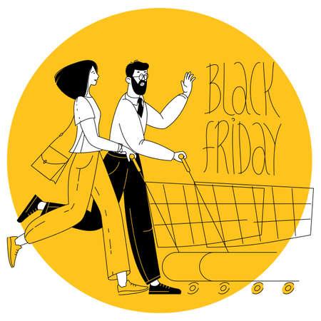Happy shopping. Black Friday Sale